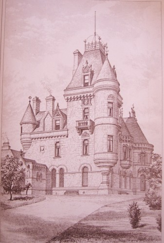 © All rights reserved. The Architect, Vol. IX, 28 June 1873, text page 342, and full page Plate illustration.