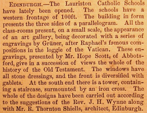 © All rights reserved. Building News 19 July 1872, p51