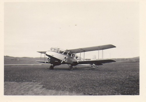 © All rights reserved. Plane that took Bell to Shetland. Courtesy of Bell