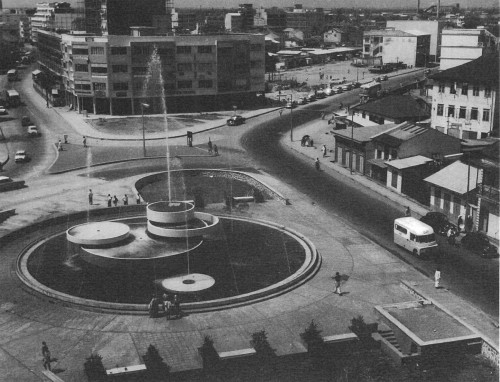 © All rights reserved. Independence Fountain of Nigeria, 1960.<br><br>Image courtesy of Mr Michael Geddes, son of Albert Edwin Geddes