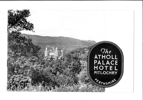 © All rights reserved. Courtesy and copyright of Atholl Palace Hotel
